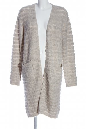 Lawrence Grey Cardigan wollweiß Zopfmuster Casual-Look