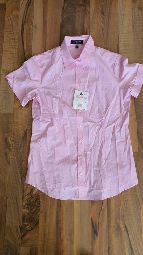 Lawrence Grey Damen Hemd BLUSE Kurzarm rosa 34