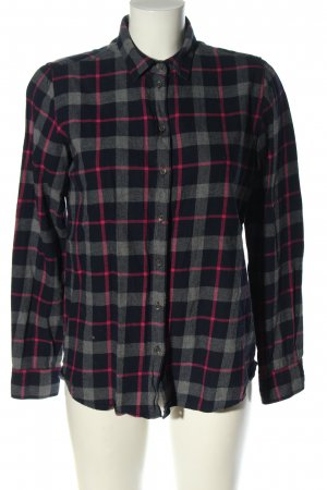 Lawrence Grey Flannel Shirt check pattern casual look