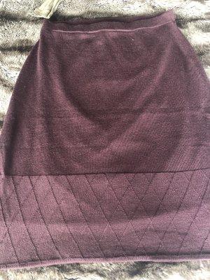 Lawrence Grey Spódnica z dzianiny głęboka czerwień Wiskoza