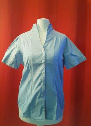 Lawrence Grey Bluzka ze stójką biały-jasnoniebieski