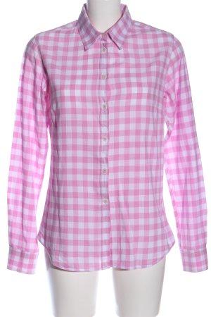 Lawrence Grey Chemise de bûcheron rose-blanc motif à carreaux
