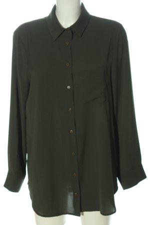 Lawrence Grey Langarmhemd khaki Business-Look