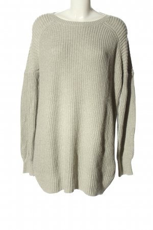 Lawrence Grey Longpullover hellgrau Casual-Look