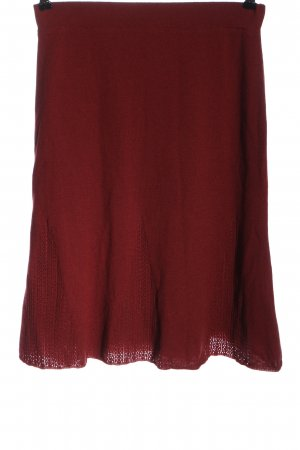 Lawrence Grey Midi Skirt red casual look