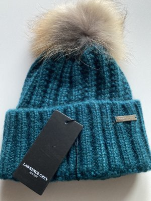 Lawrence Grey Knitted Hat petrol