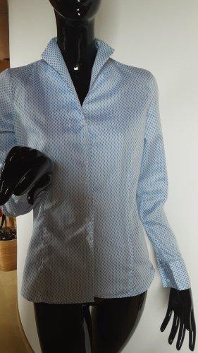 Lawrence Grey Bluzka ze stójką biały-błękitny