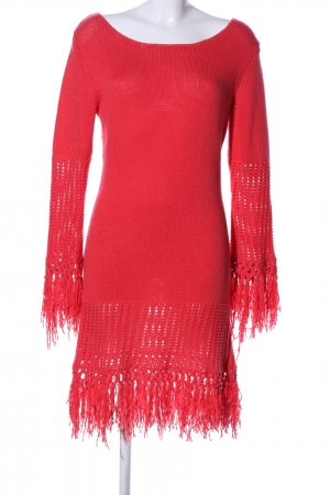 Lawrence Grey Strickkleid rot Casual-Look