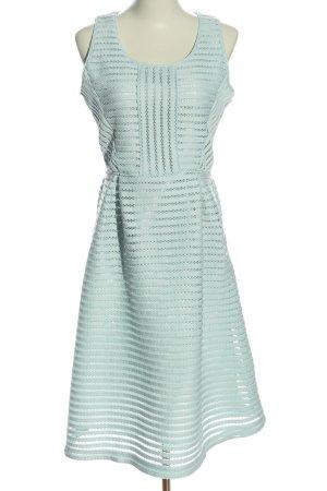 Lawrence Grey Trägerkleid türkis Streifenmuster Elegant