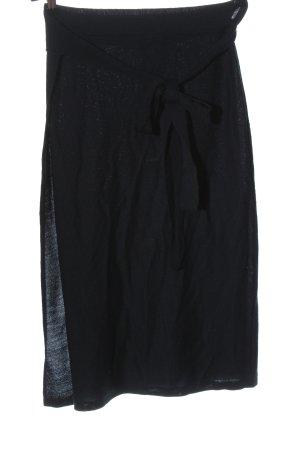 Lawrence Grey Wraparound Skirt black casual look