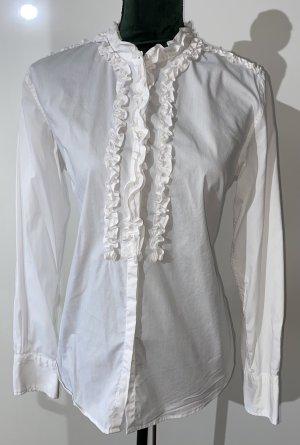 LAWRENZE GREY - Bluse mit Stehkragen und Rüschen