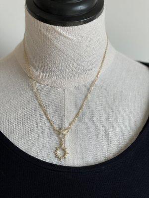 Saint Malou Gold Chain gold-colored mixture fibre