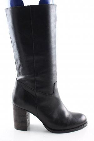 Lazamani Absatz Stiefel schwarz Casual-Look