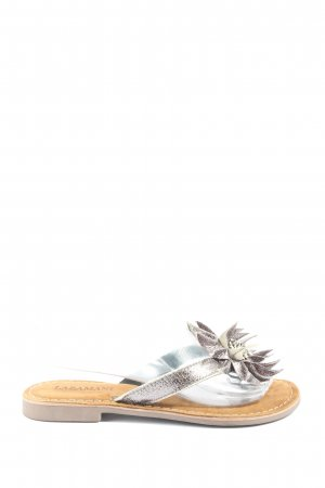 Lazamani Dianette Sandals lilac casual look