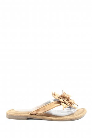 Lazamani Sandalo Dianette bianco sporco stile casual