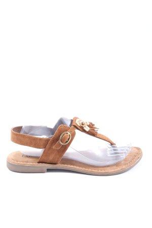 Lazamani Tong brun style décontracté