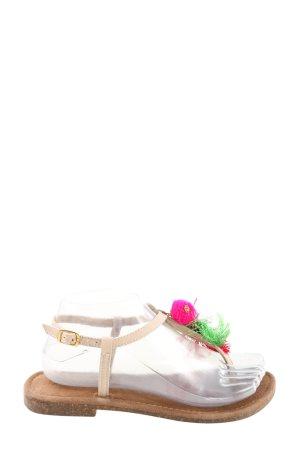 Lazamani Flip flop sandalen veelkleurig casual uitstraling