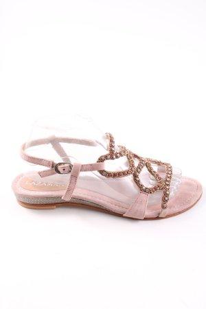 Lazamani Riemchen-Sandaletten pink Casual-Look