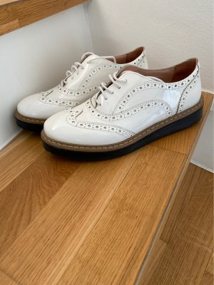 Lazamani Chaussure Oxford blanc
