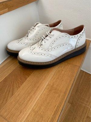 Lazamani : weiße lack Schuhe