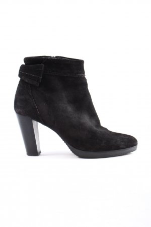 lazzarini Booties schwarz Business-Look