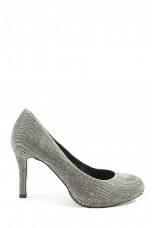lazzarini High Heels silberfarben Casual-Look