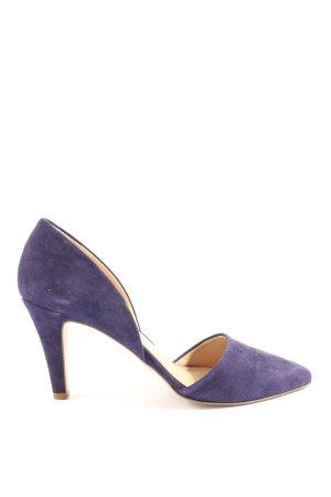 lazzarini High Heels blau Business-Look