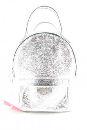 lazzarini Kindergarden Backpack silver-colored casual look