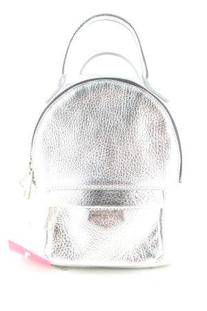 lazzarini Plecak do przedszkola srebrny W stylu casual