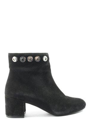 lazzarini Reißverschluss-Stiefeletten schwarz Casual-Look