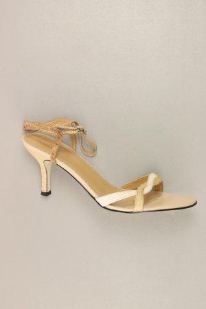 LAZZARINI Sandalen creme Größe 38