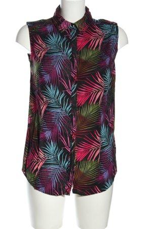 LC Waikiki ärmellose Bluse Allover-Druck Casual-Look