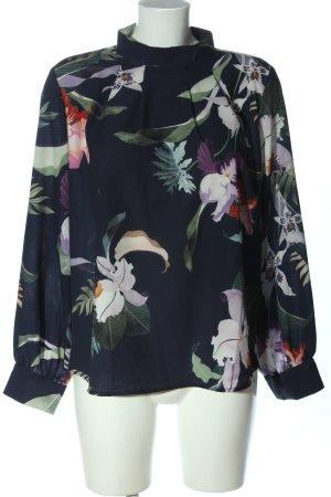 LC Waikiki Langarm-Bluse Blumenmuster Business-Look