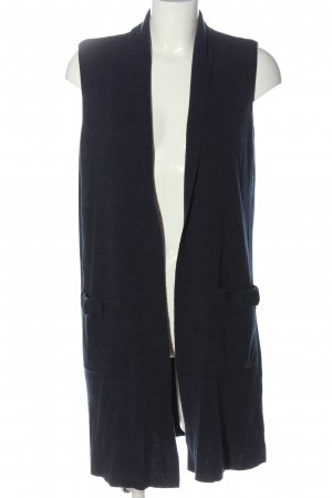 LC Waikiki Long Knitted Vest blue casual look