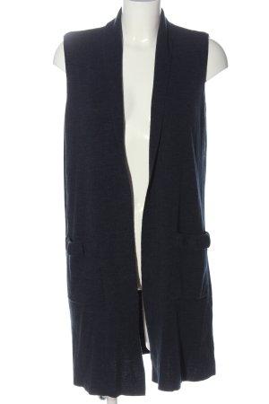 LC Waikiki Gilet long tricoté bleu style décontracté