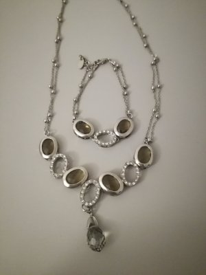 Statement Necklace camel-silver-colored