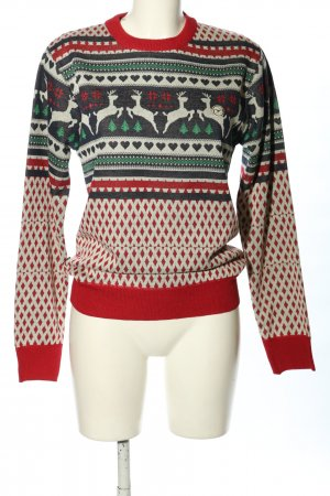 Le Breve Christmasjumper allover print casual look