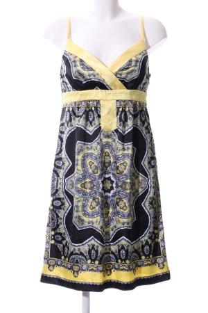 Trägerkleid abstraktes Muster Elegant