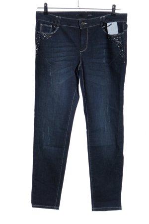 Le Comte High Waist Jeans blau Casual-Look
