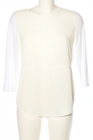 Le Comte Langarm-Bluse weiß-creme Casual-Look