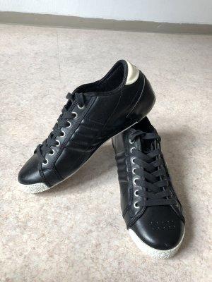 Le coq sportif Sneaker con tacco nero-bianco