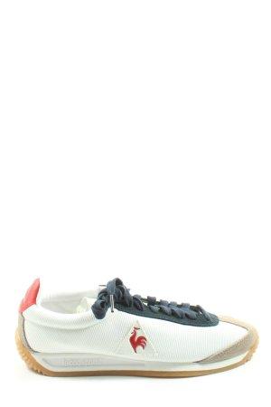Le coq sportif Chaussure skate blanc-crème style décontracté