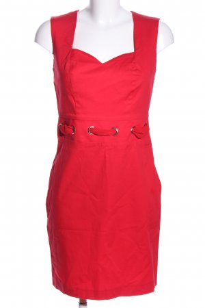Le group woman A-Linien Kleid rot Casual-Look