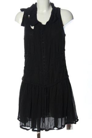 Le Jean De Marithé + Francois Girbaud A-Linien Kleid schwarz Elegant