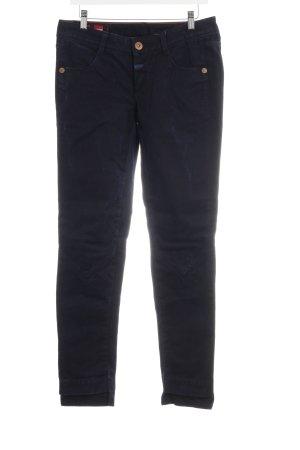 Le Jean De Marithé + Francois Girbaud Slim Jeans dunkelblau Casual-Look