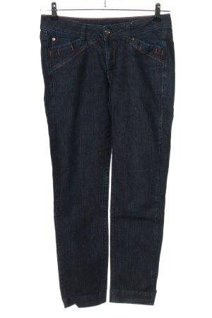 Le Jean De Marithé + Francois Girbaud Straight-Leg Jeans blau Casual-Look