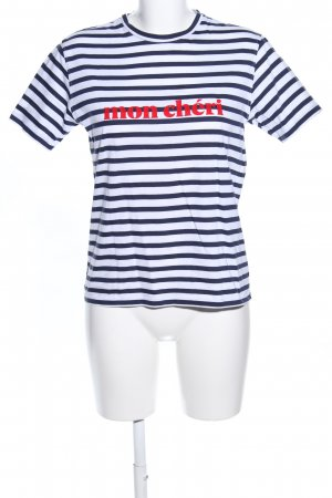 T-Shirt Schriftzug gedruckt Casual-Look