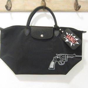Le Pliage Sondermodell Tasche BANG mit Anhänger
