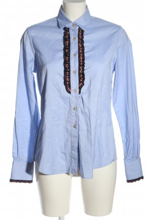 Le Sarte Pettegole Hemd-Bluse blau-rot Business-Look