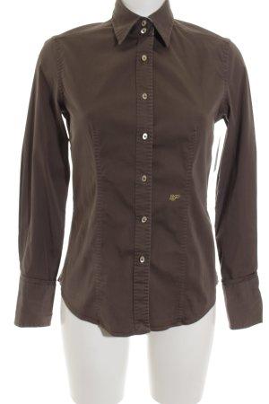 Le Sarte Pettegole Hemd-Bluse braun klassischer Stil